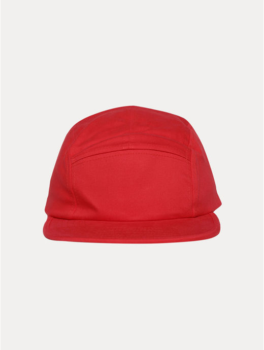 Red Solid Baseball Cap