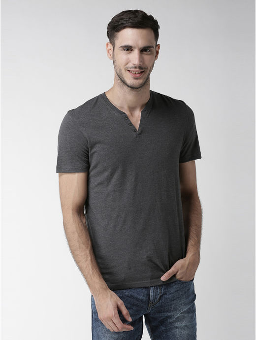 Dark Grey Melange T-Shirt