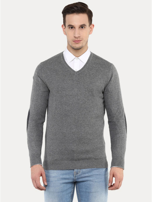 Fever Grey Melange Sweater