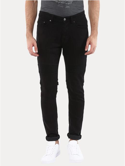 Joker Black Straight Jeans