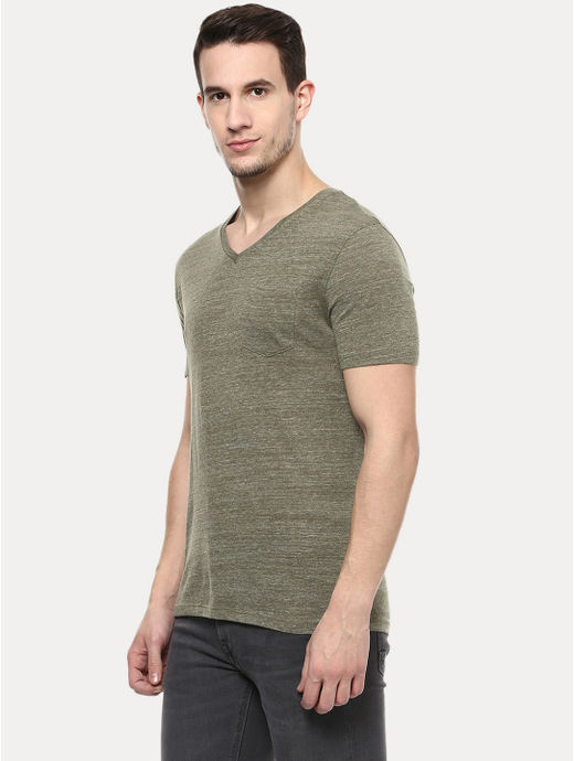 Green Melange T-Shirt