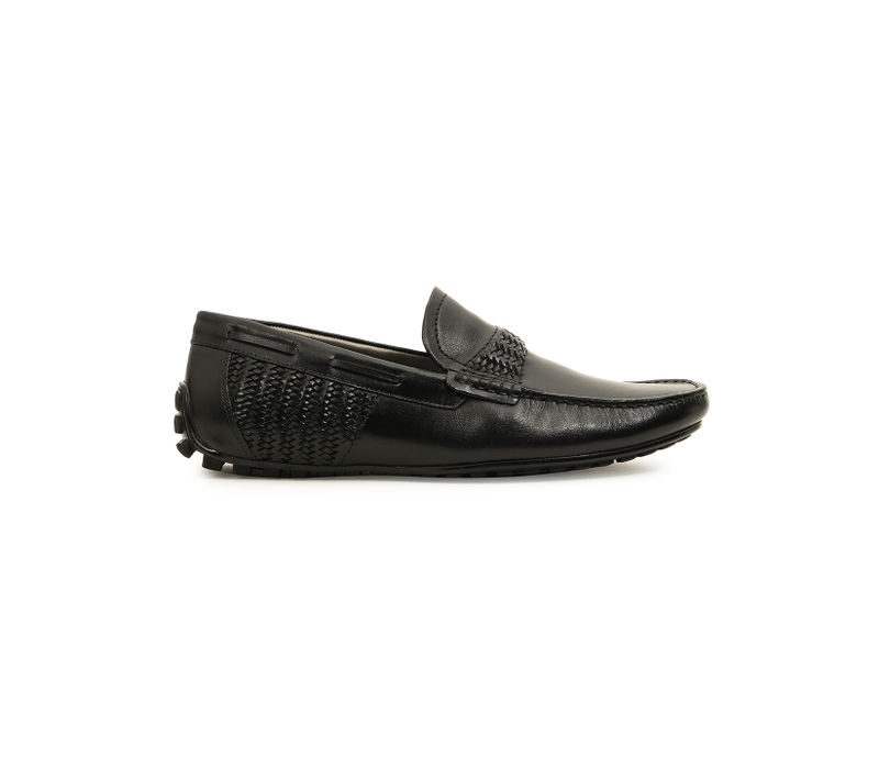 Side Woven Moccasins