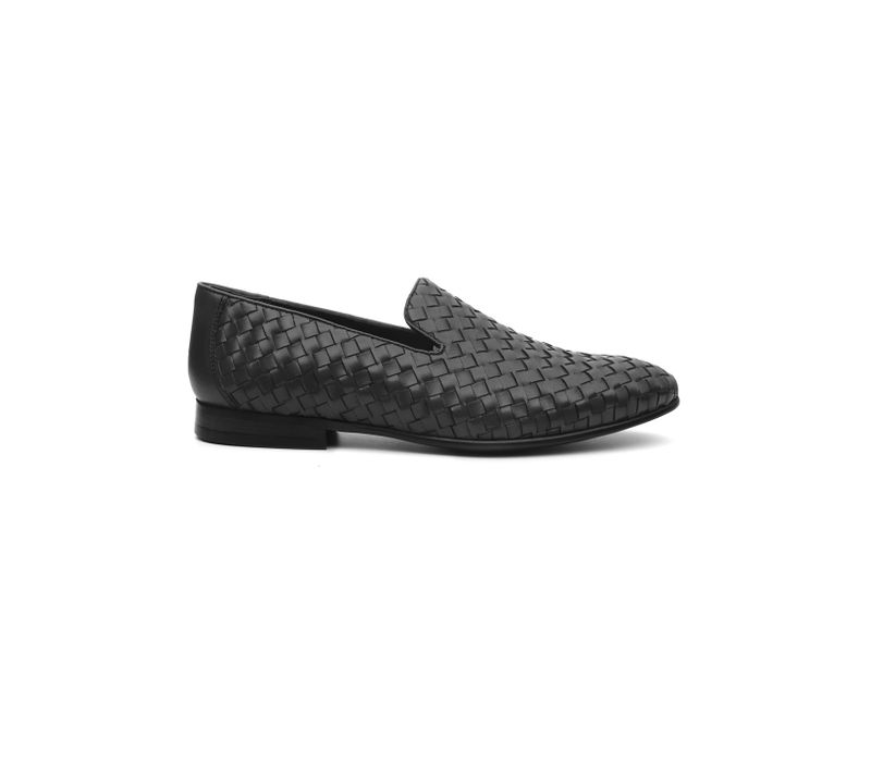 Weave Textured Loafers