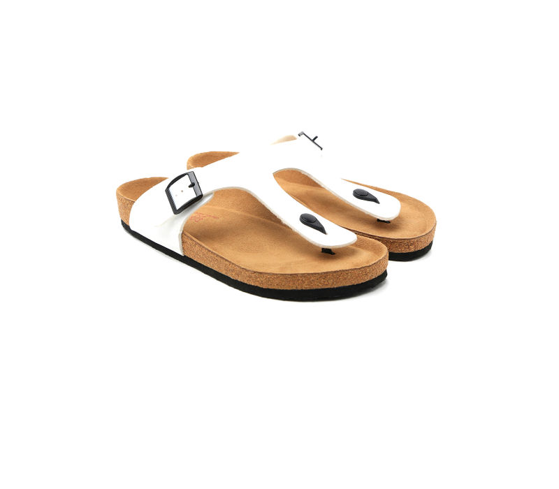 Cygna Ankle silver/white Sandals