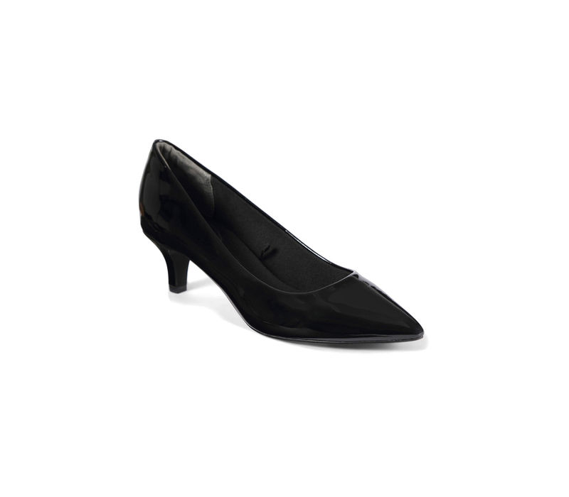 Women Kitten Heel - Black