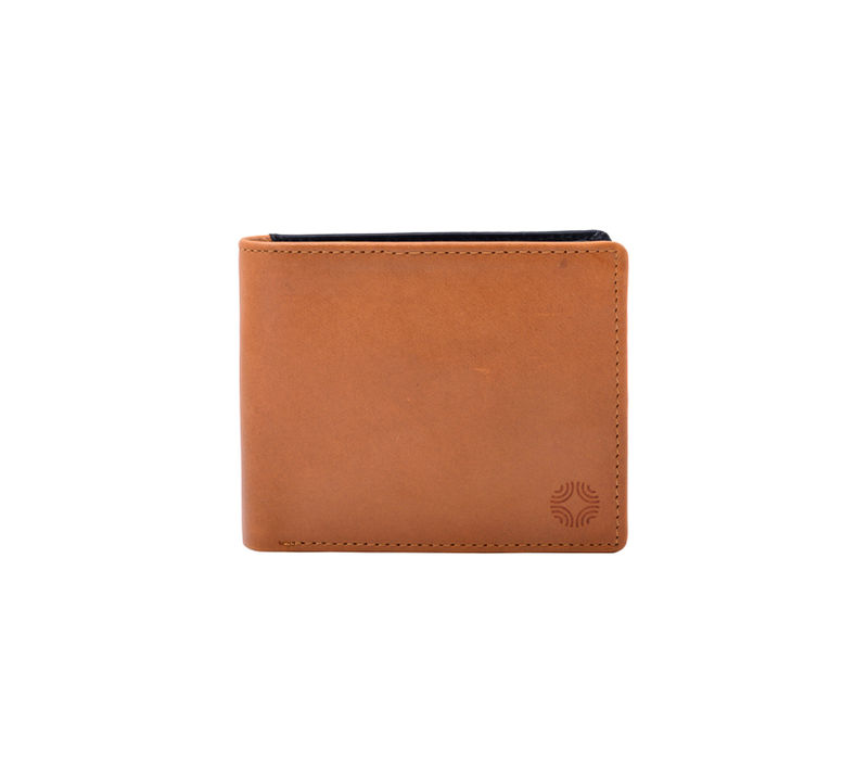 Tan and Black Wallet