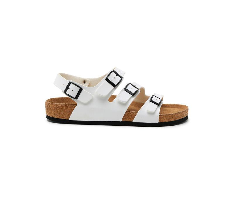 White Sandals