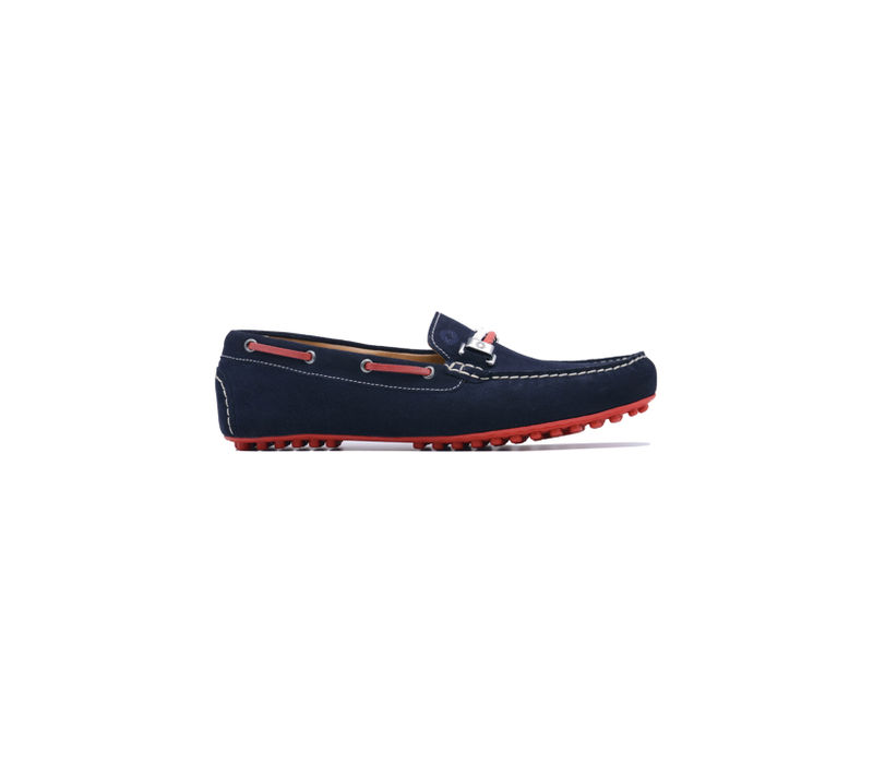 Navy Boat Shoes