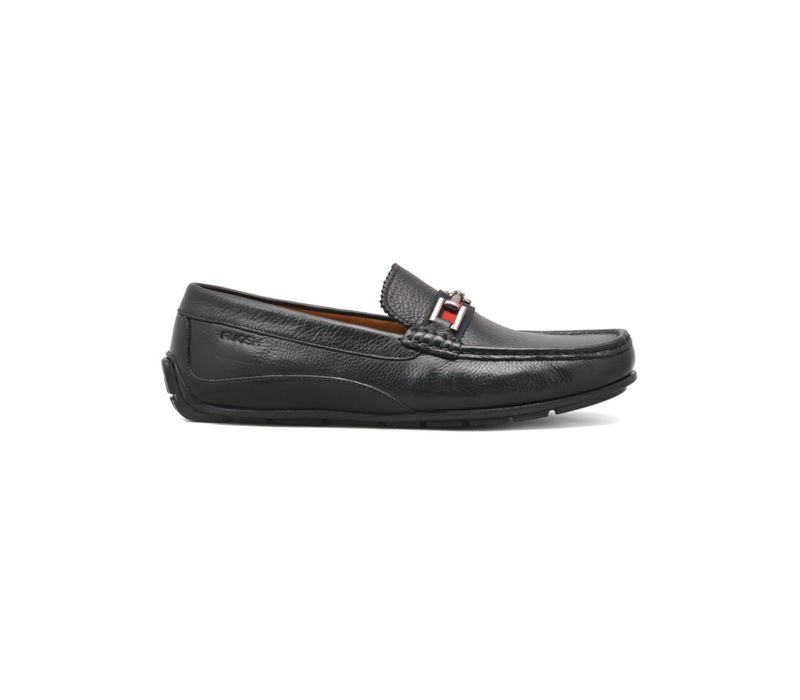 Black Casual Slip-ons