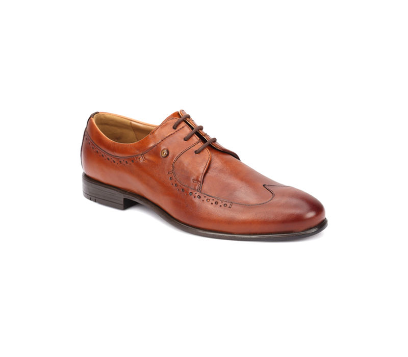Work Lace Up - Brown