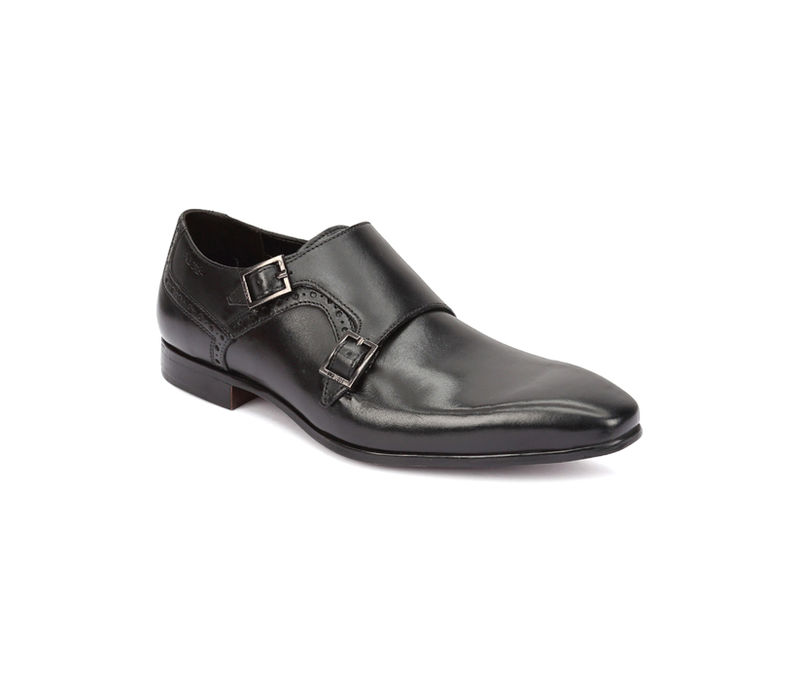 Work Double Monk - Black