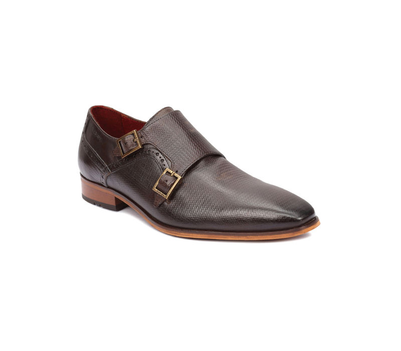 Occasion Double Monk - Brown