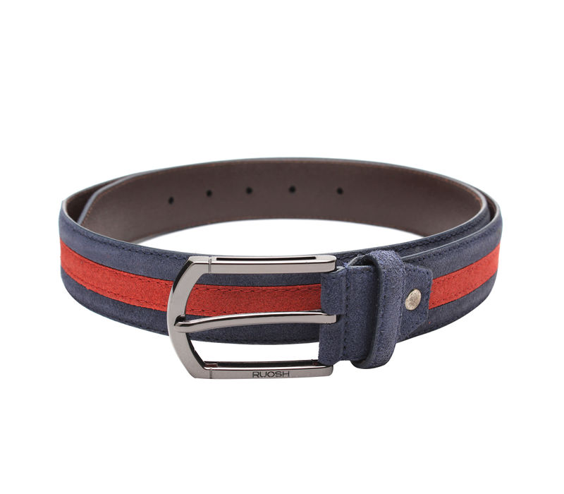 Blue and Red Belt