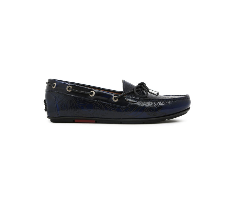 Women's Driving Shoes- Navy Blue
