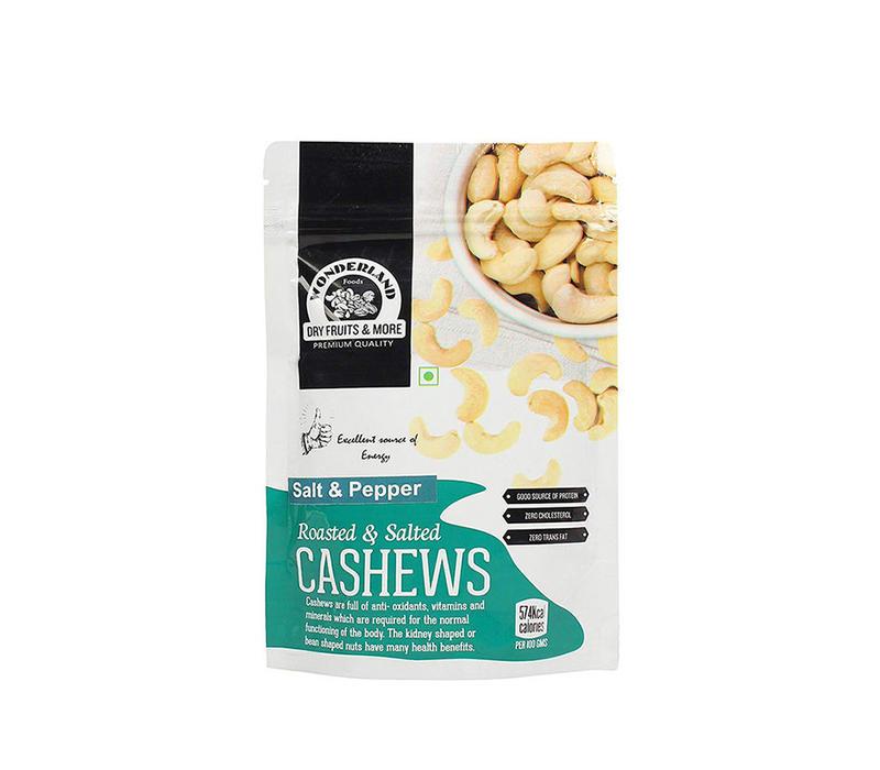 Cashews Salt & Pepper 100gm