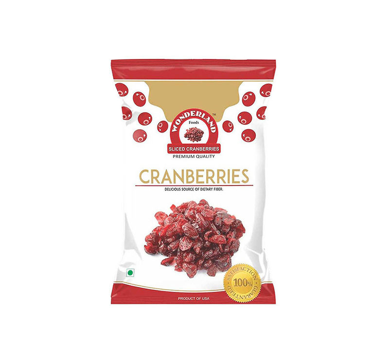 Dried Sliced Cranberries 200gm