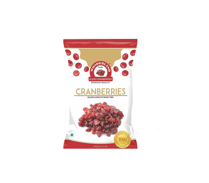 Dried Sliced Cranberries 400gm (200gm x 2)