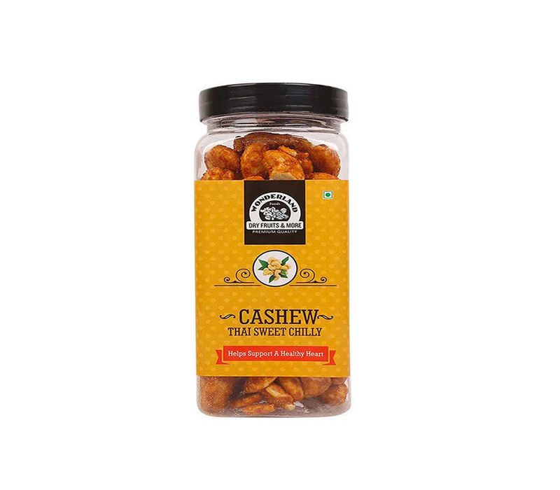 Roasted & Salted Flavour Thai Sweet Chilly Cashew Nuts 750gm (150gm x 5)