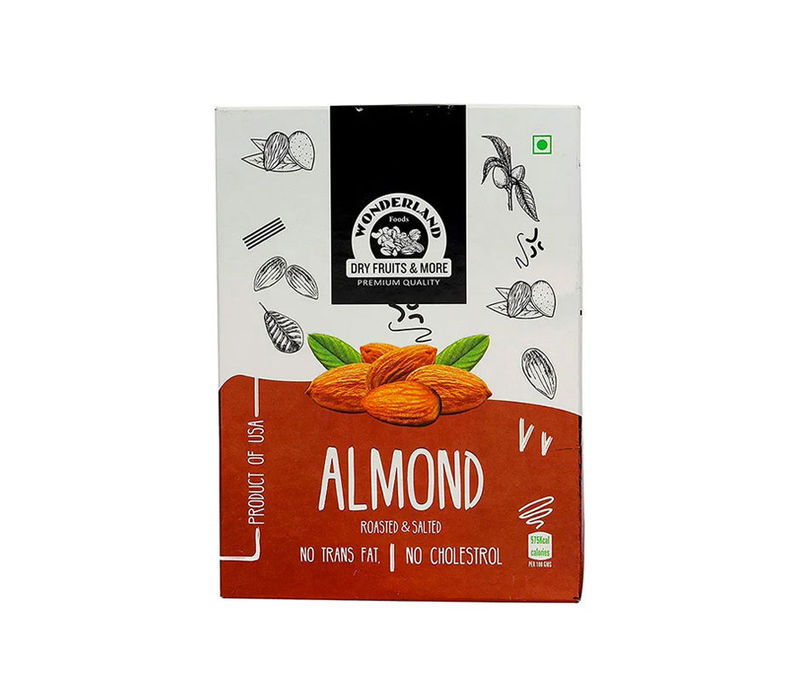 Roasted & Salted California Almonds 1kg (200gm x 5)