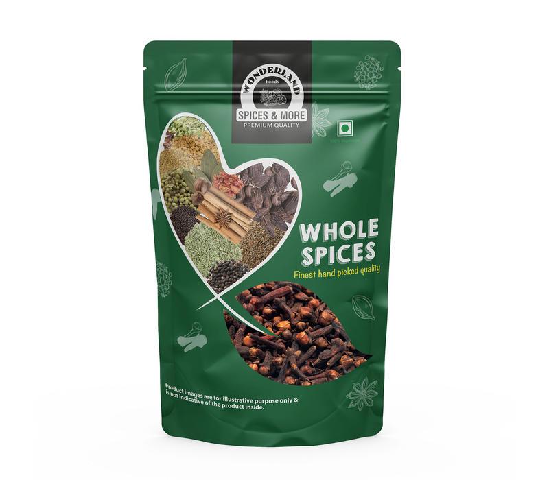 Wonderland Foods Premium Quality Whole Cloves 250g