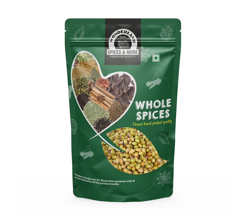 Wonderland Foods Whole Coriander 250g