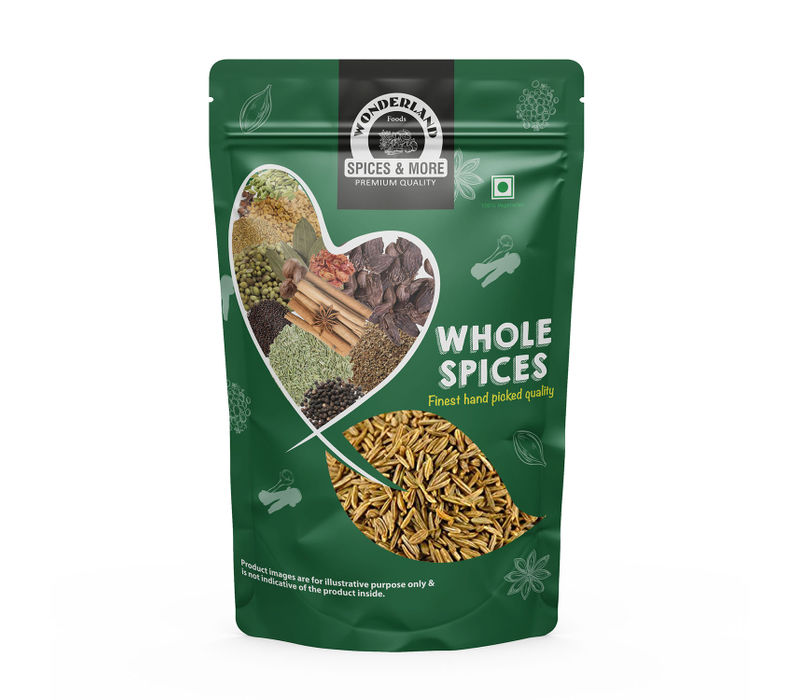Wonderland Foods Whole Cumin Seeds (Jeera) (250 g)