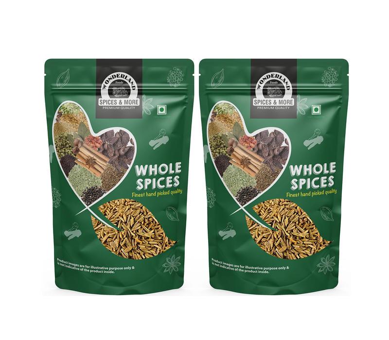 Wonderland Foods Whole Cumin Seeds (Jeera) (500 g)
