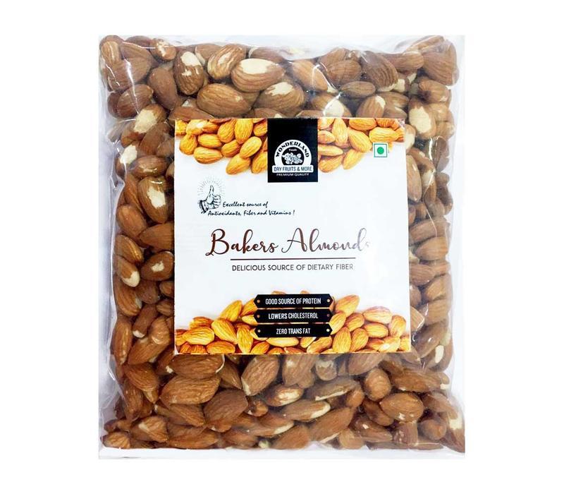 Wonderland Foods Bakers Almonds 1 Kg
