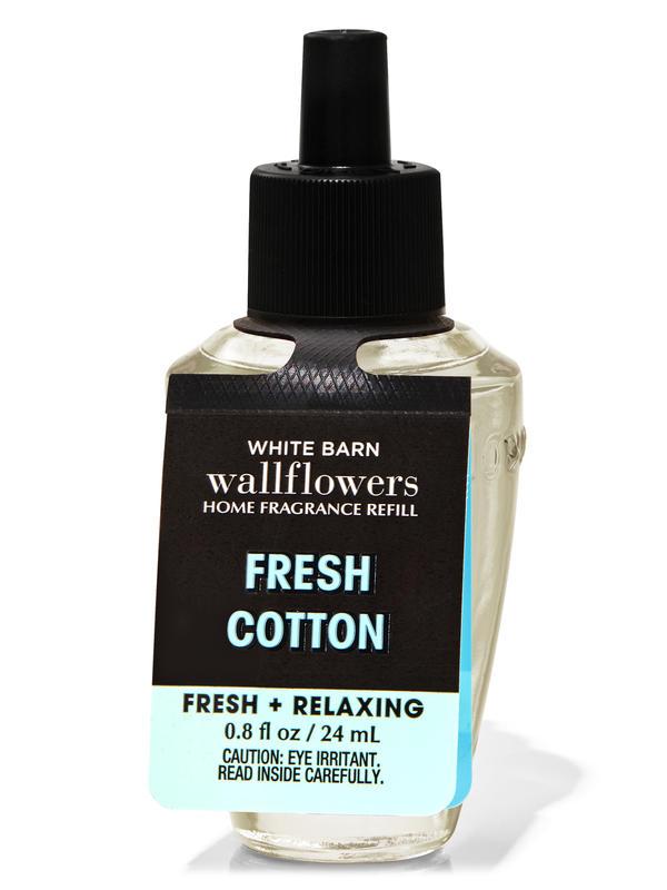 Fresh Cotton Wallflowers Fragrance Refill