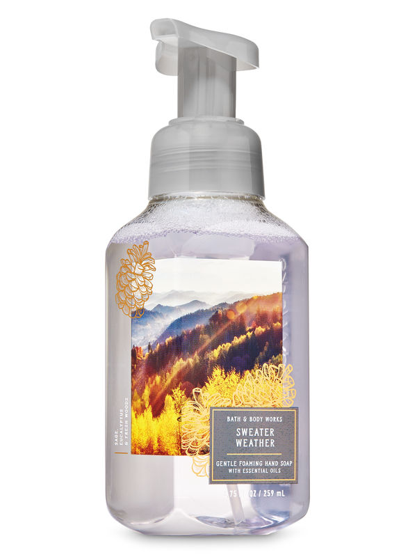 Sweater Weather Gentle Foaming Hand Soap