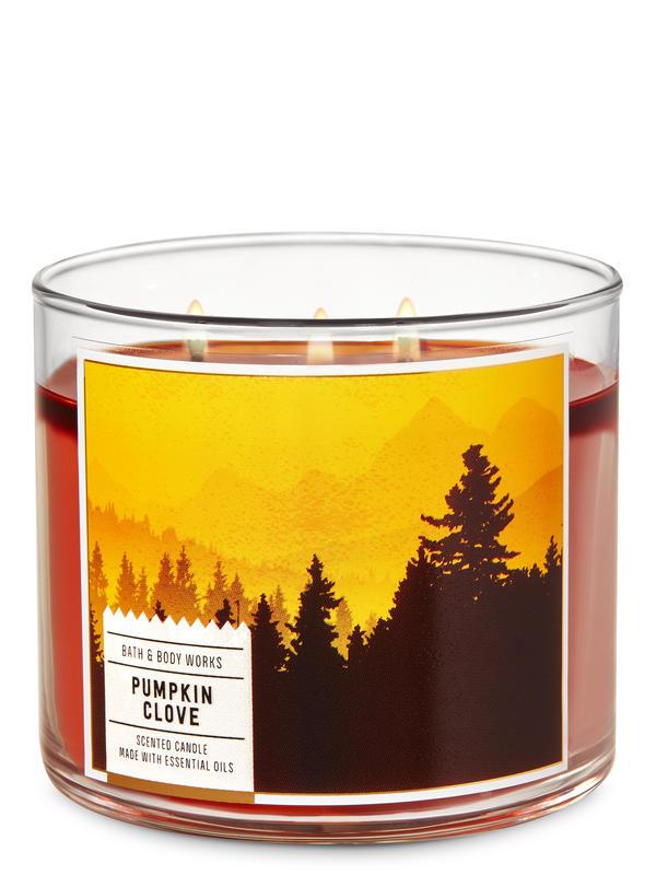 Pumpkin Clove 3-Wick Candle