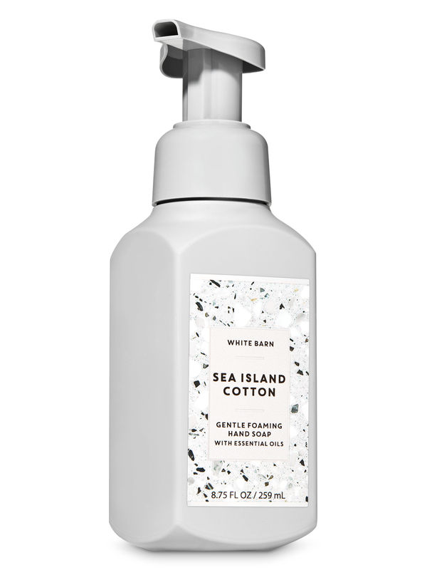 Sea Island Cotton Gentle Foaming Hand Soap