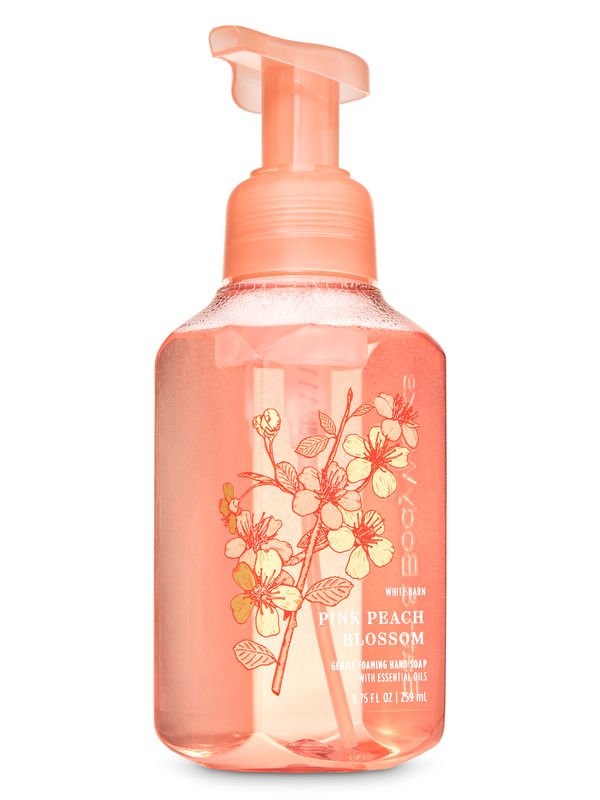 Pink Peach Blossom Gentle Foaming Hand Soap