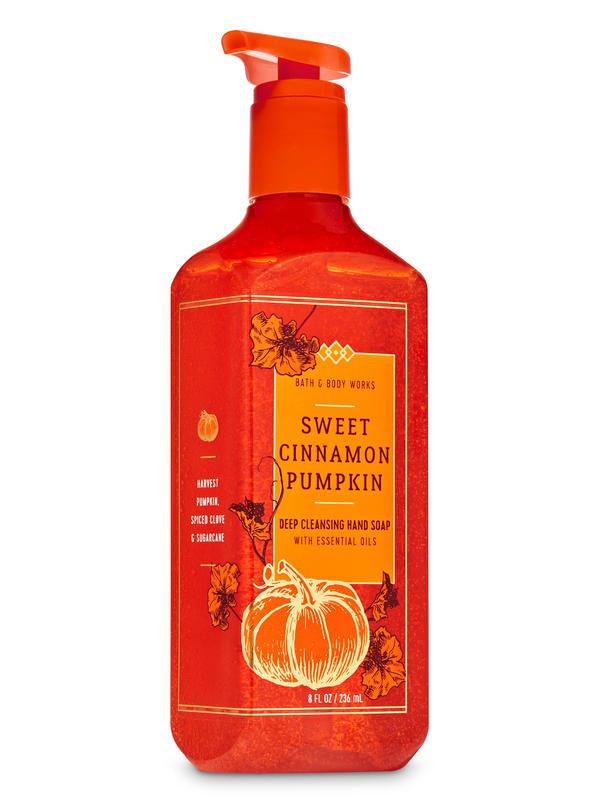 Sweet Cinnamon Pumpkin Deep Cleansing Hand Soap