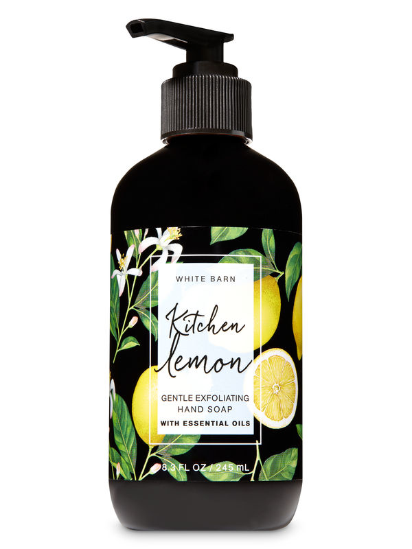 Kitchen Lemon Gentle Exfoliating Hand Soap