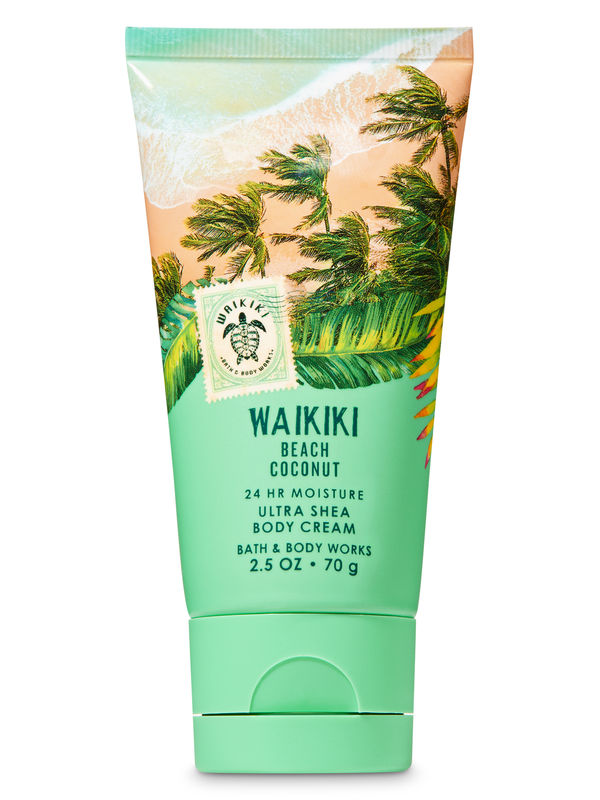 Waikiki Beach Coconut Travel Size Body Cream