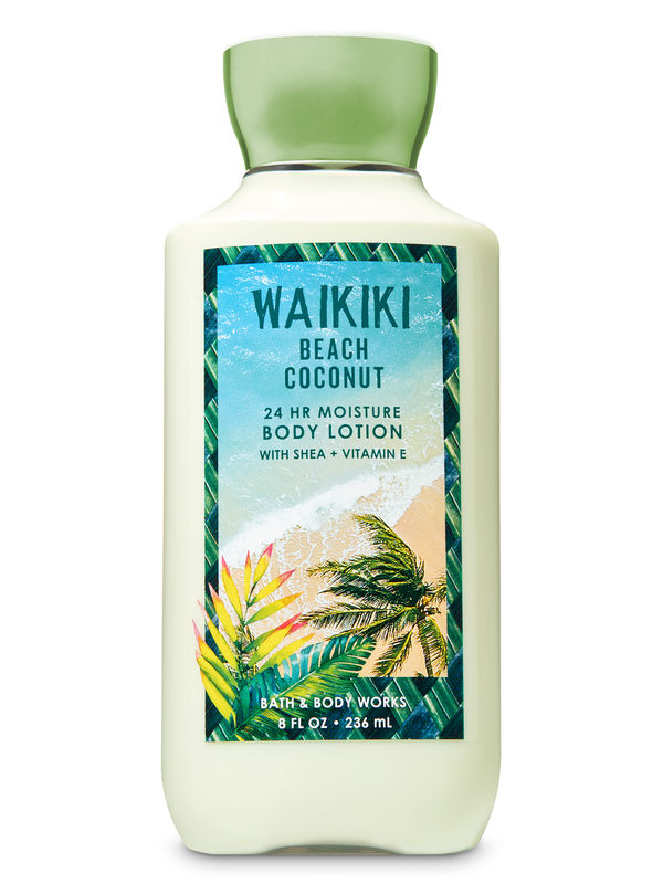 Waikiki Beach Coconut Super Smooth Body Lotion