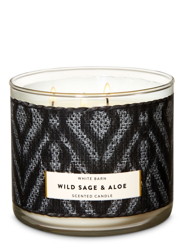 Wild Sage & Aloe 3-Wick Candle