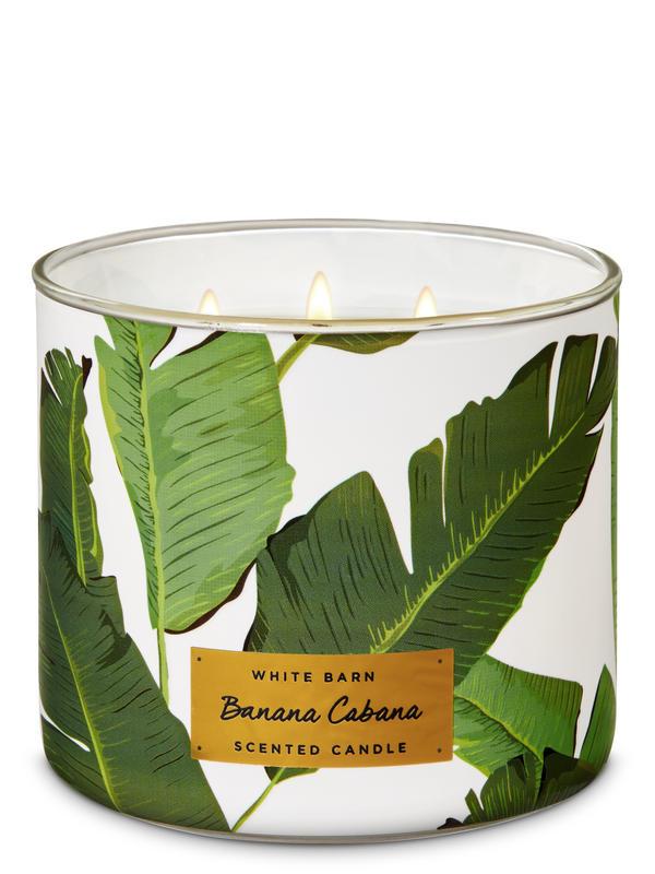 Banana Cabana 3-Wick Candle