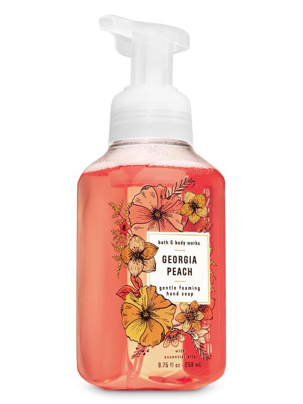 Georgia Peach Gentle Foaming Hand Soap