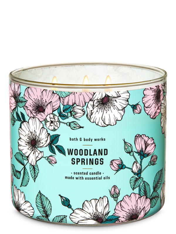 Woodland Springs 3-Wick Candle