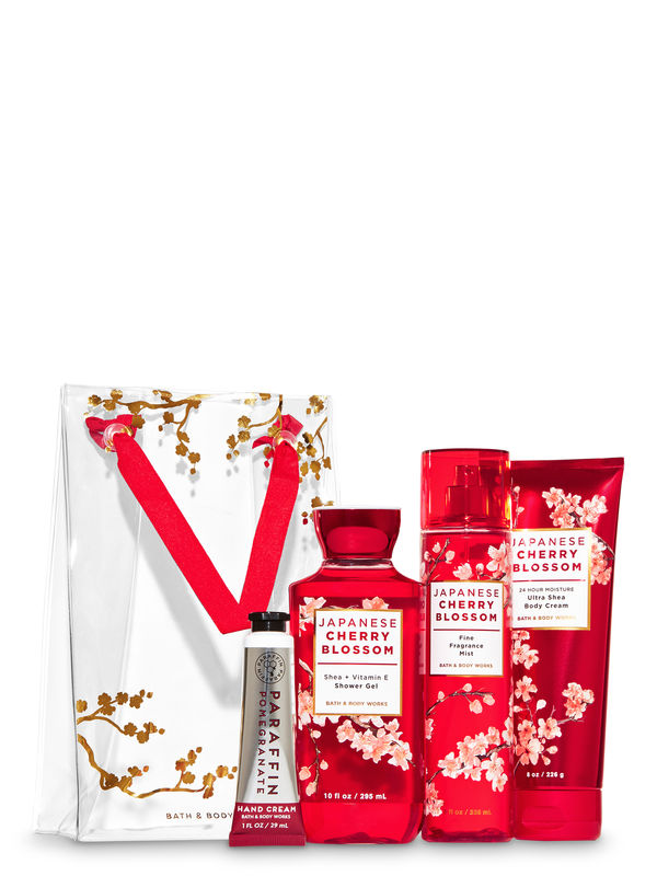 Japanese Cherry Blossom Gift Set