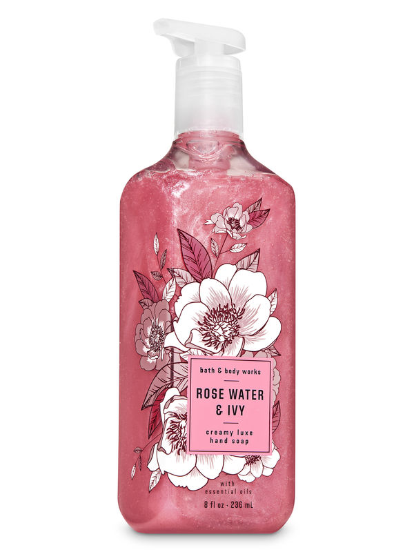 Rose Water & Ivy Creamy Luxe Hand Soap