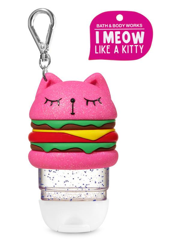 Meowing Hamburger Cat PocketBac Holder
