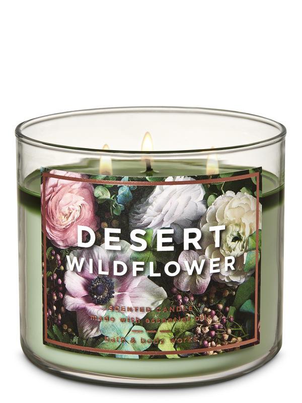 Desert Wildflower 3-Wick Candle