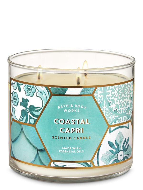 Coastal Capri 3-Wick Candle