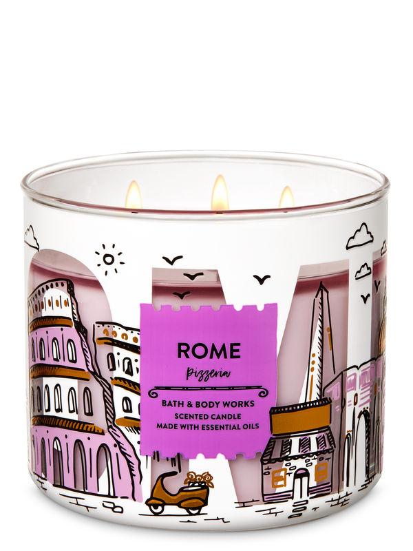 Pizzeria 3-Wick Candle
