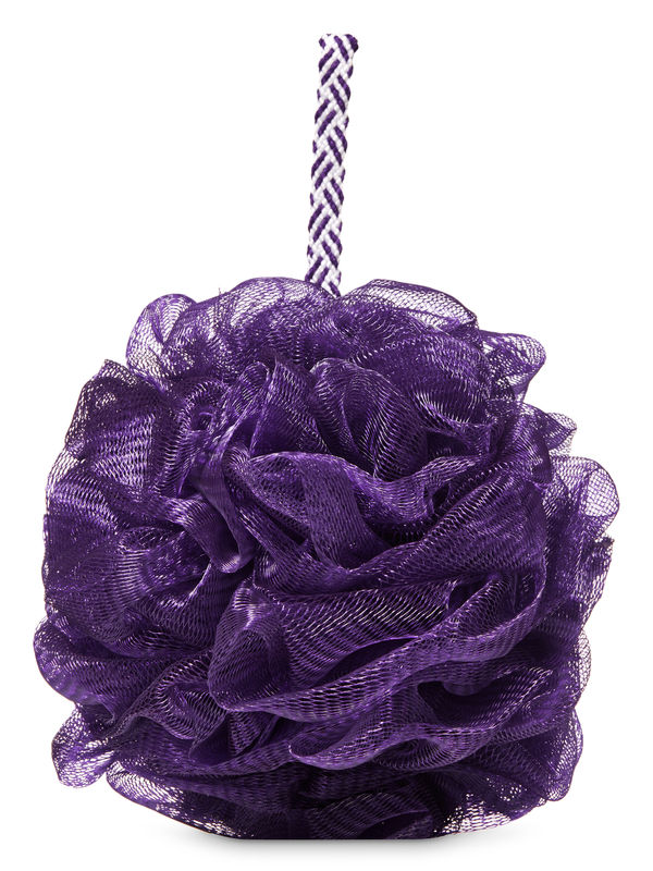 Dark Purple Loofah