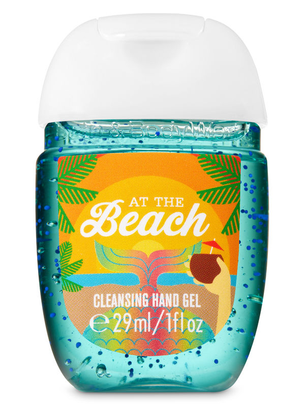 At The Beach Pocketbac Cleansing Hand Gel