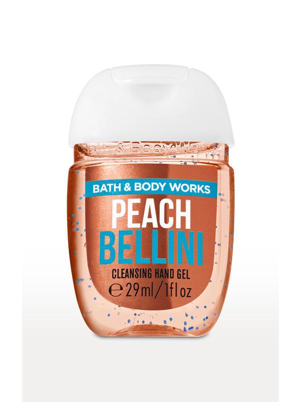 Peach Bellini PocketBac Cleansing Hand Gel